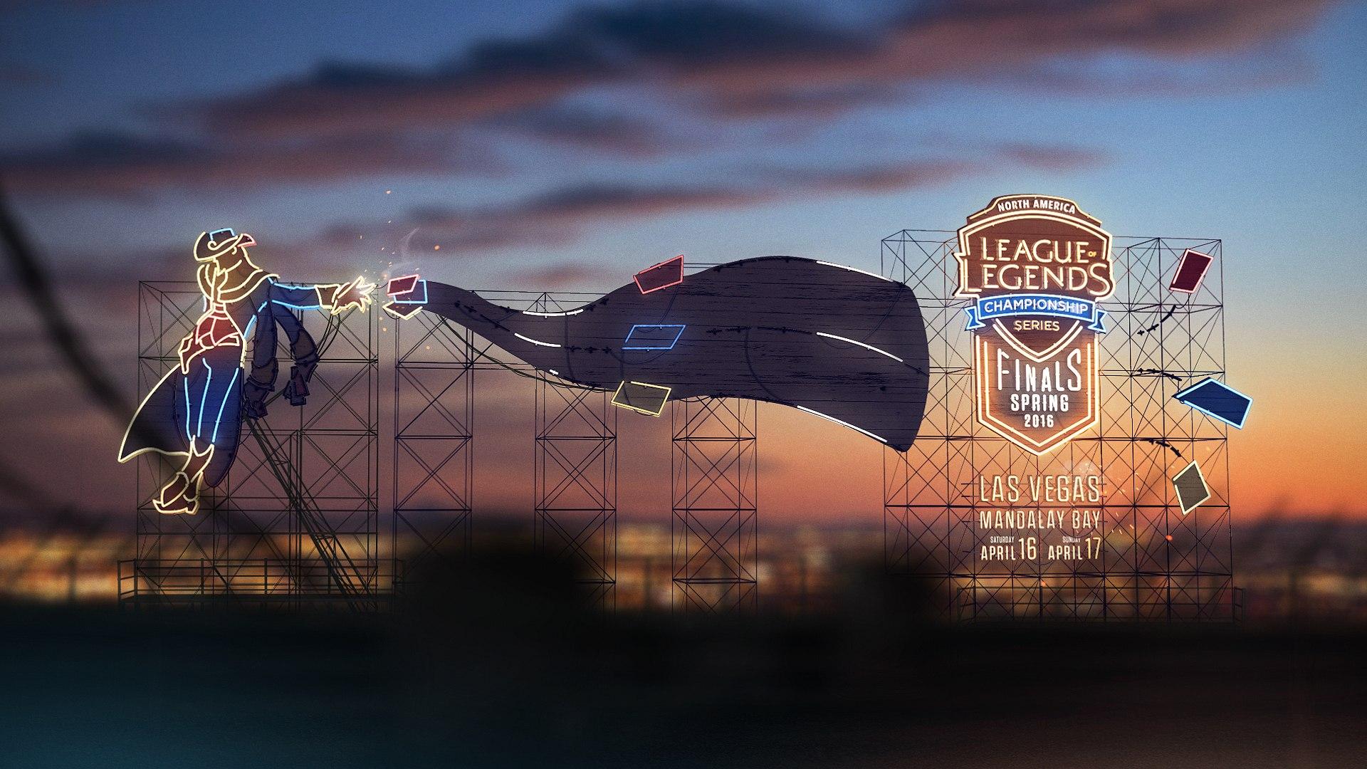 Viva Las Vegas - NA LCS Spring Finals heading to Vegas