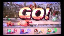 Super Smash Bros Wii U Online Match #2 For Fun
