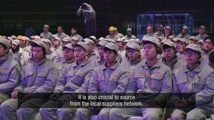 Au coeur de la première usine Renault en Chine