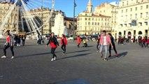AS LYCEE PERIER MARSEILLE FLASHMOB EURO 2016