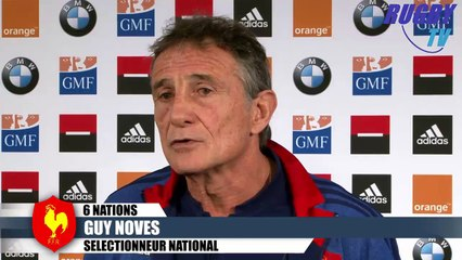 XV DE FRANCE - 6 NATIONS 2016 - FRANCE-IRLANDE - GUY NOVES-GUILHEM GUIRADO