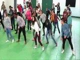 Flashmob Collège Pierre et Marie Curie de Niort