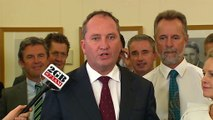 Barnaby Joyce elected as the new leader of the Nationals, Fiona Nash elected deputy