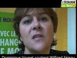 Dominique Voynet soutient Wilfried Séjeau