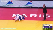 PGS2016 2ème tour -60kg : GANBAT (MGL) vs. MILOUS (FRA)