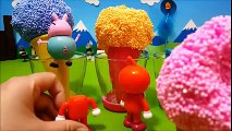 Ice Cream surprise eggs!アンパンマンたまご❤おもちゃアニメ❤おかあさんといっしょ♦ Toy Kids トイキッズ animation anpanman