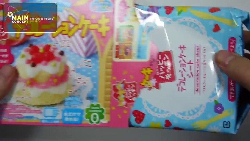 Trò chơi làm món bánh ngọt bằng đồ chơi nấu ăn Nhật Bản | Godialy.com
