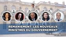 Remaniement: Les nouveaux ministres du gouvernement
