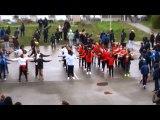 Flash mob college Evariste Galois sarcelles