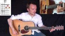 Foule Sentimentale - Alain Souchon - Tuto Guitare Facile