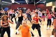 Zumba fitness dance exercise = fun! promo music video San