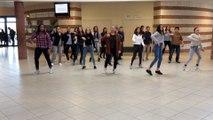Flashmob - Collège Louis Grignon de Fagnières(51) - UNSS Euro 2016