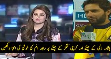 Rabia Anum is Quite Happy After Winning By Zalmi From Karachi Kings