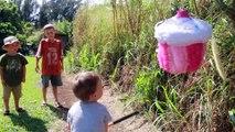 World's BIGGEST CUPCAKE Surprise Eggs ❤ Best Fun Toys Largest GIANT SURPRISE Family Fun WIN MONEY