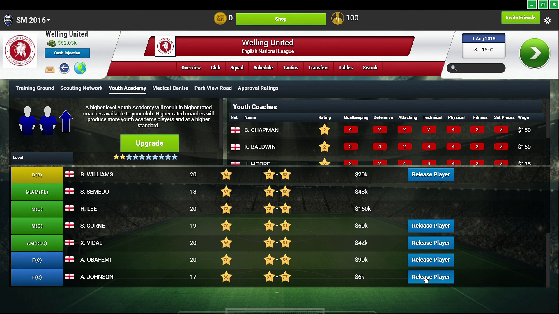 Soccer Manager – RAW Gaming 2