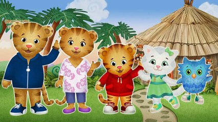 Daniel Tigers Neighborhood Finger Family / Nursery Rhymes