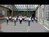 Flash Mob UNSS EURO 2016 Collège Yvonne le Tac