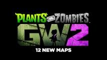 PvZ GARDEN WARFARE 2 | 12 New Maps Reveal Trailer (Xbox One) 2016