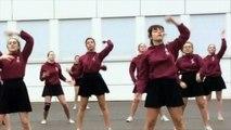 Flashmob UNSS EURO 2016 Lycée FLAUBERT ROUEN