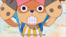 One piece - Sanji trifft auf Prinzessin Shirahoshi (funny) Ger Sub