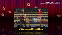 WWE NXT 2016.02.10 Nia Jax & Eva Marie Attacks Carmella & Bayley