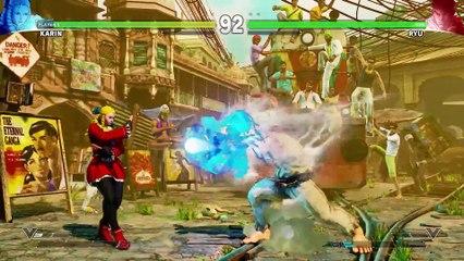 Character Introduction Series - Karin de Street Fighter V