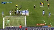 Leandro Greco Amazing Free-Kick Goal - Lazio 3-1 Hellas Verona - Serie A 11.02.2016 HD