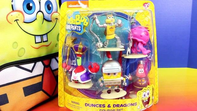 Nickelodeon SpongeBob SquarePants Backpack Surprise Toys SpongeBob Patrick Plankton