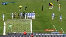 Leandro Greco Amazing Free-Kick Goal - Lazio 3-1 Hellas Verona - Serie A 11.02.2016 HD -