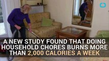 Some Household Chores Burn As Many Calories As Going to The Gym