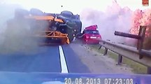 Car accidents funny - Highway Car Crash Compilation - car accidents on highway