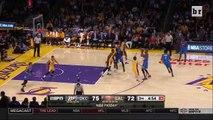 Kobe Bryant Pushes Referee to the Ground | Oklahoma City Thunder vs Los Angeles Lakers