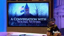 Triumph the Insult Comic Dog Talks to Young Voters • Triumph on Hulu