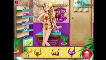 ❤ Disney Princess Rapunzel - Tanning Solarium Game - Princess Disney Tangled Girls Games
