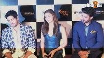 Alia Bhatt Is Not My SISTER - Sidharth Malhotra | Kapoor & Sons Trailer Launch Event | Karan Johar Fawad Khan Alia Bhatt Sidharth Malhotra