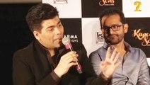 Karan Johar - Bombay Velvet a disastrous debut | Kapoor & Sons Trailer Launch Event | Karan Johar Fawad Khan Alia Bhatt Sidharth Malhotra