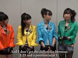 モーニング娘。9期コメント 2011/04 (English sub)