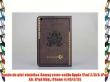 Funda de piel sintética Gamsy retro-estilo Apple iPad 2/3/4 iPad Air iPad Mini iPhone 4/4S/5/5S