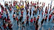 FLASHMOB EURO 2016 - Lycée René Cassin d'Arpajon
