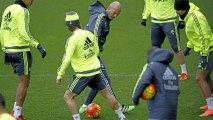 Quand Cristiano Ronaldo tente un petit pont sur Zidane