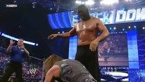 Triple H vs. The Great Khali (Broken Glass Arm Wrestling) Amazing match