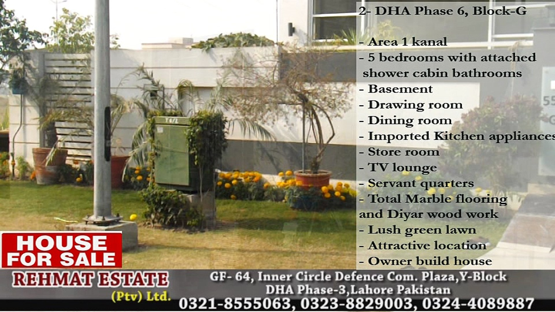 DHA Lahore Houses Specialist