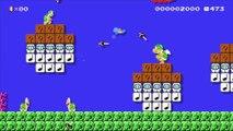 Super Mario Maker : Bulbizarre, Carapuce et Salamèche