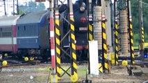 Olomouc hl.n. i parni vlak