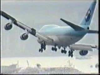 Atterissage Avion
