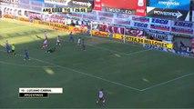 Gol de Cabral. Argentinos 1 Tigre 1. Fecha 1. Torneo Transición 2016