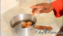 How To Boil Eggs,Perfect Boiled Eggs Recipes From Chef Ricardo Cooking