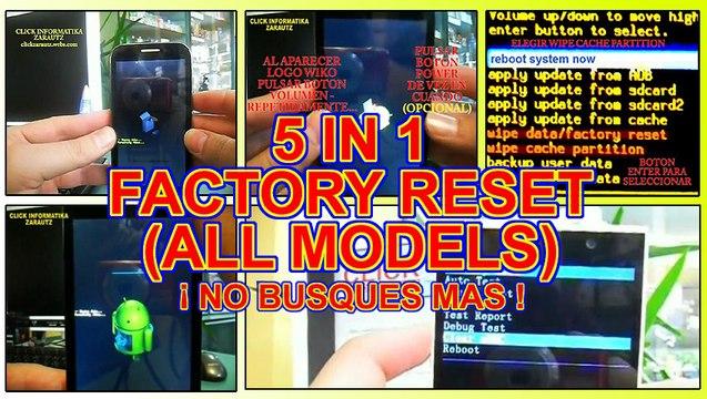 RCA Factory Reset видео Online - Ceo-english ru