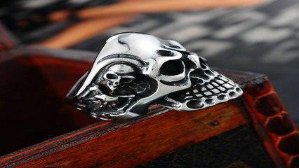Infidel Skull - Infidel Skull Biker Ring