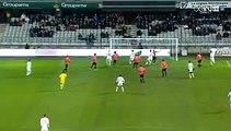 Sebastien Puygrenier Goal AJ Auxerre 1-2 AS Nancy 12.02.2016